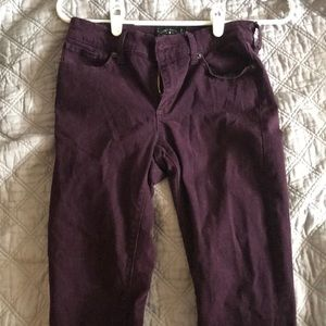 Purple lucky jeans